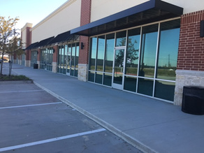 Commercial Buildings Power Wash Sidewalks and Entry