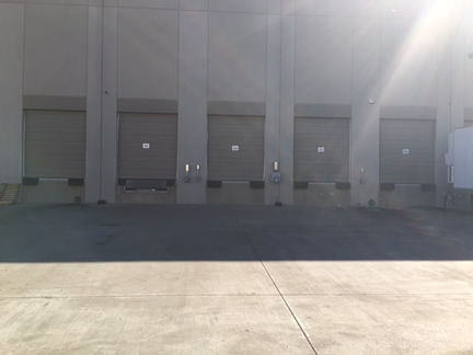 Industrial Loading Dock Power Washing Houston