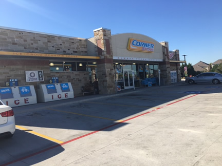 Retail and Convenience Store Entry Pressure Washing